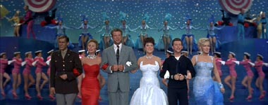 Johnny Ray .. Mitzi Gaynor .. Dan Dailey .. Ethel Merman ..Donald O'Connor .. Marilyn Monroe ...